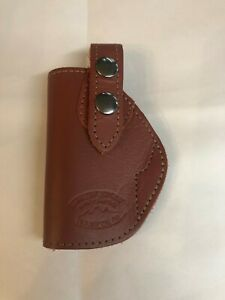 NWOT Gun Holster Barsony Brown Leather