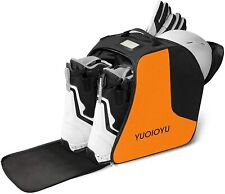 Ski Boot Bag - Waterproof Snowboard Boots Bag, Perfect Gear Travel Shoulder