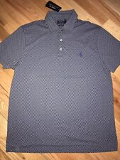 nwt 89.50$ Polo Ralph Lauren Custom Slim Fit 100% Cotton Polo Shirt sz M