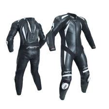 Tute in pelle e altri tessuti nero RST in pelle per motociclista