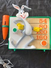 Vintage Bugs Bunny Radio Warner Bros With Carrot Microphone Carry Handle Awesome