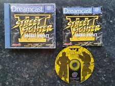 Street Fighter 3 III Double Impact Sega Dreamcast PAL Complete Streetfighter