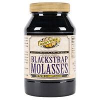 Golden Barrel 32 oz Pure BLACKSTRAP MOLASSES Unsulphered QUART Sulfur-Free Iron