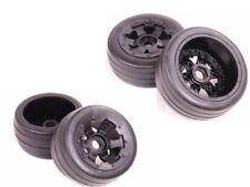 Baja Slick Tyres tire for 2pcs Front & 2pcs rear Wheels for Baja 5B Hpi KM RV
