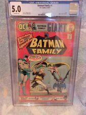 Batman Family #1 DC Comics Giant 10/1975 CGC 5.0 VG/FN Batgirl Robin Team Up