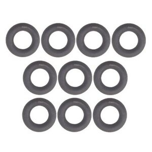 Set of 10 Fuel Injector O-Rings For: Mercedes Benz BMW Saab AMG CLS550 E63 ML320