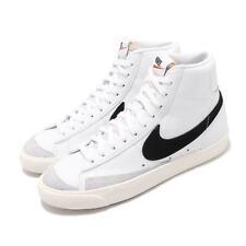 Nike Mujeres Blazer de 77 Vintage Blanco Negro para Mujeres Clásico informal Zapato CZ1055-100