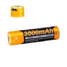 Fenix Arb-l18-3500u 18650 Rechargeable Battery - USB Port Built in