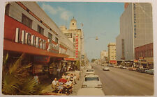 1972 Photo Postcard Liggett Rexall Downtown St Petersburg Florida Looking East