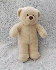 """Build A Bear Workshop Tan Teddy Bear Cream Plush Stuffed Animal Toy BAB 15"""""""