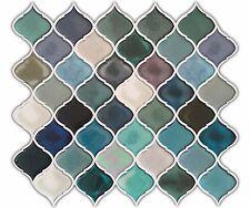 "11""×10"" Kitchen Bathroom DIY Waterproof Decal Peel &Stick Mosaic Backsplash Tile"