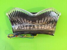 Kawasaki ZZR1400 06 11 Clear tail light with LEDs and indicators N98