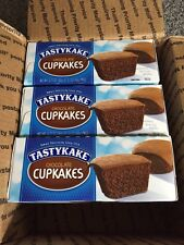 TASTYKAKE (LOT of 3) Chocolate Cupcakes 12ct. Fresh & Delicious Priority Mail