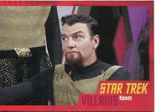Star Trek Heroes & Villains The Original Series Parallel Base Card #56