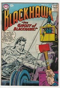Blackhawk #127 VF+ 8.5 Adventure War Chop Chop Olaf The Raider Ghost 1958