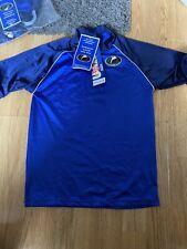 Protettivo UV Bambini Costumi Da Bagno Blu TEE T-Shirt NUOVO 10/12 anni