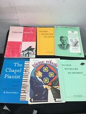 Lot Of 23 Piano Organ Duets Books Vintage Gospel Hymns Church Music