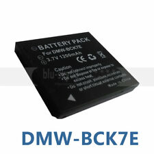 BATTERY FOR Panasonic DMW-BCK7PP NCA-YN101G Lumix DMC-FP5 DMC-FP7 Digital Camera