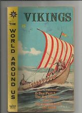 The World Around Us #29   VG/FN  VERY GOOD/FINE Vikings (Jan 1961, Gilberton)
