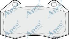 FRONT BRAKE PADS FOR RENAULT MEGANE GENUINE APEC PAD1416