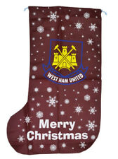 West Ham United FC Official Christmas Football Xmas 1m Stocking Gift