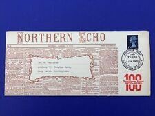 FDC Darlington Newspaper Northern Echo 100 Years Centenary 1970