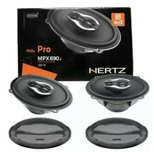Hertz MPX690.3 Mille Pro 6x9 3-Way Car Speakers