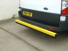 NEW Transit 2014 Model Rear Van Bumper Step Protection T- Bar. HiViz.