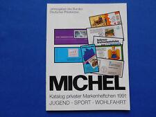 Michel Briefmarken  Katalog privater Markenhefte unbenutzt 1,99 Euro