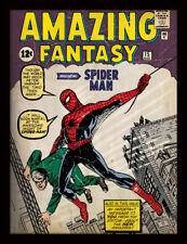 SPIDER-MAN numero 1 incorniciato 30 x 40 Stampa Ufficiale
