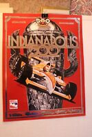 INDY COLLECTORS POSTER 1998 LIMITED REPRO OF PROGRAM COVER BY SIMON