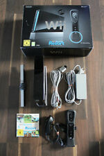 Nintendo Wii Konsole schwarz in OVP + Remote Controller & Nunchuk + Wii Sports