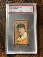 John McGraw 1911 T205 Gold Border Piedmont Back PSA 1.5 ⚾️