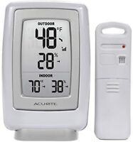 AcuRite Wireless Weather Thermometer with Humidity Display + Sensor