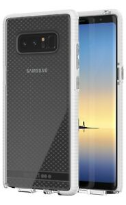 Genuine Tech21 Pure Clear Evo Check Thin Tough Case Samsung Galaxy Note 8
