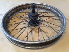 "Vintage British Wheel 40 Spokes 19"" Triumph BSA Enfield Ariel ??NOT SURE Sidecar"