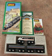33421 Brio Wooden Electric Intercity! Thomas! Trains of the World Series! NEW!