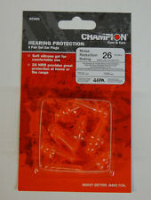 Champion Silicone Gel Ear Plugs 4 Pair, Hearing Protection, Shooting Accessories
