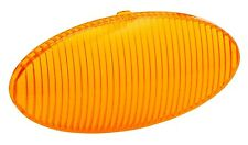 Bargman 30-79-024 Porch Light Lens - Replacement - For 79 Series - Oval - Amber