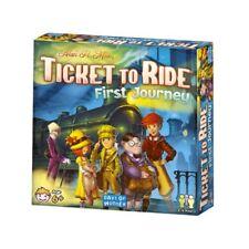 Ticket to Ride: First Journey [Board Game, Days of Wonder, Trains, Children] NEW
