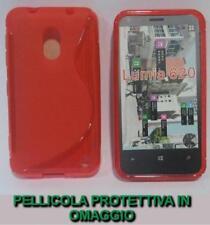 Cover e custodie rossi modello Per Nokia Lumia 620 per cellulari e palmari per Nokia