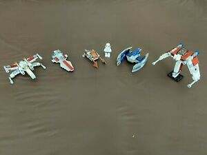 Lego Star Wars Polybag Lot 30051 30053 30005 8031 30055 X-Wing Torrent Complete!