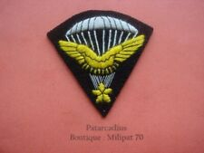 Patch . Tissu -  Parachutiste . Infanterie de l'Air