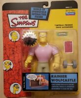 RAINIER WOLFCASTLE The Simpsons Action Figure Series 11 Playmates Toys New Wos