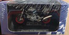 "DIE CAST SUPERBIKES  "" DUCATI 900 MONSTER S4 "" ATLAS  SCALA 1/24"