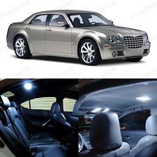 14 x Xenon White LED Interior Light Package For Chrysler 300 300C 2005 - 2010