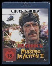 BLU-RAY MISSING IN ACTION 3 - BRADDOCK - UNCUT - CHUCK NORRIS - Vietnam-Krieg **