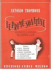 Antonio Trombone: Quadretti e Fantasie Per Pianoforte a 4 Mani - Curci