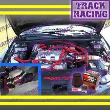 99-05 PONTIAC GRAND AM OLDSMOBILE ALERO 3.4L V6 COLD AIR INTAKE KIT + K&N Red 3p