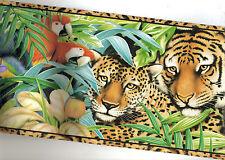TIGER PARROT GORILLA MONKEY PANDA WALLPAPER BORDER  5814580